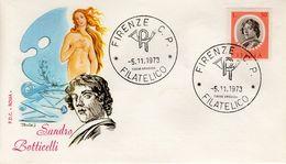ITALY - 1973 Famous Artists  FDC4217 - 6. 1946-.. República