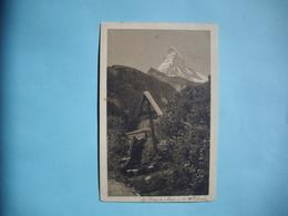 Le Mont Cervin  -  La Prière Du Matin  -  SUISSE - VS Valais