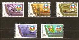 Burundi 1987 OCBn° 954-958  *** MNH Cote 55 Euro - 1980-89: Neufs