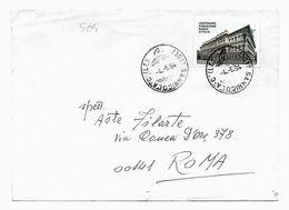 EDB505  - REPUBBLICA , Lettera 1994 Banca Isolato - 6. 1946-.. Repubblica