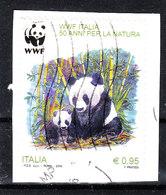 Italia   -  2016. Panda. WWF. Autoadesivo. Self-adhesive - Ours