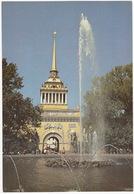 Leningrad: La Tour De L'Amirauté -  The Admiralty Tower  (Jumbo Sized Postcard; 25 Cm X 17 Cm) - Rusland