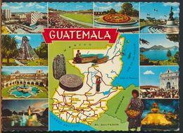 °°° 10867 - GUATEMALA - VIEWS - 1979 With Stamps °°° - Guatemala