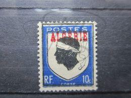 VEND BEAU TIMBRE D ' ALGERIE N° 243 , BLEU DECALE , (X) !!! - Algeria (1924-1962)