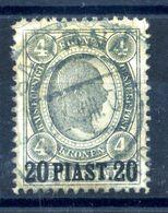 1900 LEVANTE N.38 USATO - Oriente Austriaco