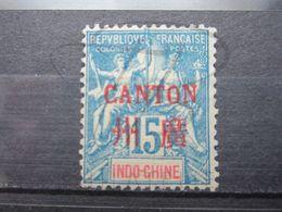 VEND BEAU TIMBRE DE CANTON N° 7 , (X) !!! - Canton (1901-1922)