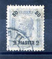 1901 LEVANTE N.35L USATO - Oriente Austriaco