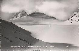 AK Hochwilde Annakogel Hochwildehaus Gurgler Ferner Gletscher Stempel Obergurgl Ötztal Tirol Österreich Austria Autriche - Sölden