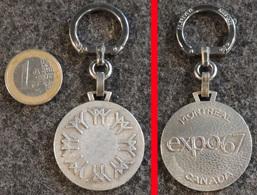 AUGIS Porte-clé Ancien NEUF Porte-clé Officiel EXPO67  De L'Exposition Universelle De Montréal 1967 CANADA - Key-rings