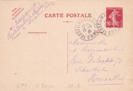 EP France - CP1 - 1930 - Côté 50.00€ - Entiers Postaux