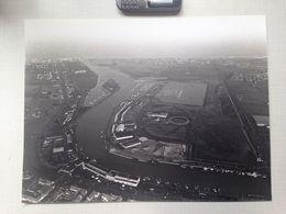 1980 HAVEN NIEUWPOORT Grote Luchtfoto 40,5x30,5cm Met Negatieven NOVUS PORTUS Heemkunde Geschiedenis FOTO Visserij R573 - Nieuwpoort