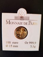 100 Euros OR Semeuse 2008 France - Francia