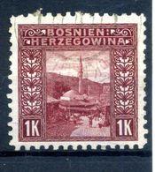 1906 BOSNIA N.42 USATO - Oriente Austriaco