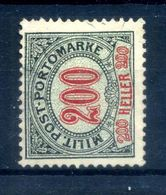 1904 BOSNIA TASSE N.13 USATO - Oostenrijkse Levant