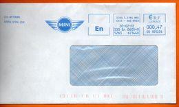 67 SCHILT   MINI    2012 Lettre Entière 110x220 N° JJ EMA 696 - Freistempel