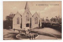 23 - MOERBEKE (Waes). - Kerk En Standbeeld - Moerbeke-Waas