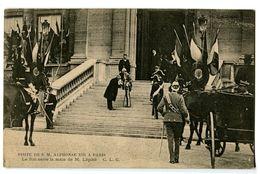 CPA 75 Paris Visite De S. M Alphonse XIII à Paris Le Roi Sert La Main De M. Lépine Animé - France