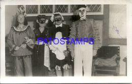 90536 ARGENTINA MAR DEL PLATA GOLF CLUB COSTUMES DESGUISE CARNIVAL AÑO 1944 PHOTO NO POSTAL POSTCARD - Photographs
