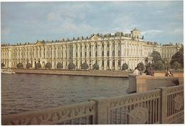 Leningrad: Palais D'Hiver - L'Ermitage - Hermitage, The Winter Palace -  (Jumbo Sized Postcard; 25 Cm X 17 Cm) - Rusland