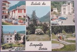 Saluti Da Scopello Sesia - 1 - Viaggiata 1976 - (2240) - Italia