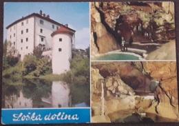 Grad Sneznik In Krizna Jama – Slovenia – Viagg. 1970 – (2388) - Slovenia