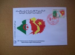 Algérie: FDC De 2017 - Bouïra - Relations Diplomatiques Algéro-Vietnamiennes - Algeria (1962-...)