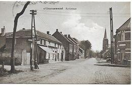 S'gravenwezel, Kerkstraat, Verstuurd 1936 - Schilde