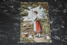 1424   Brooklyn  Washing Day    Card Was Send To Holland 1909 - NY - New York