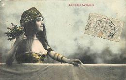SORCELERIE - VOYANCE - DISEUSE DE BONNE AVENTURE - LA BONNE AVENTURE - CPA CIRCULEE EN 1905 - Europe