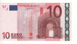 "10 EURO  ""N""  Austria     Firma Duisenberg     F 002 D3   /  FDS - UNC - EURO"