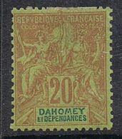 DAHOMEY N°10 N* - Dahomey (1899-1944)