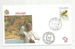Premier Jour , FDC, Malawi, Visit Of Pope John Paul II , Malawi , Capital City ,  5-5-1989 - Malawi (1964-...)
