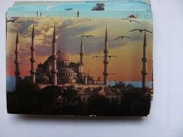 Turkije Turkey Istanbul The Blue Mosque Panorama - Turkije