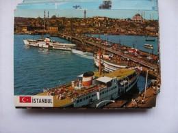 Turkije Turkey Istanbul Bridge Lots Of Cars And City - Turkije