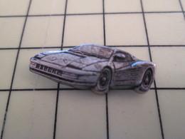 Pin615a Pin's Pins / Rare Et De Belle Qualité  : AUTOMOBILES : METAL ACIER MASSIF BIEN DETAILLEE FERRARI - Ferrari
