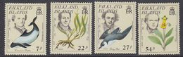 Falkland Islands 1985 Early Naturalists 4v ** Mnh (37832A) - Falklandeilanden