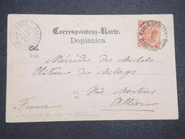 BOSNIE - HERZEGOVINE - Oblitération Militaire Autrichienne Sur Carte Postale De Zenica En 1899 - L 14684 - Bosnie-Herzegovine
