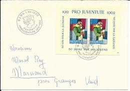 PJ, WI 199, Bloc Cinquantenaire, Mère, Enfant - Blocks & Kleinbögen