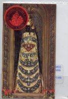 Santino Antico VERGINE LAURETANA Con RELIQUIA Del VELO (In Busta Di Plastica) - OTTIMO L34 - Godsdienst & Esoterisme