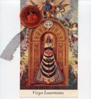 Santino VIRGO LAURETANA Con RELIQUIA (Ex-Indumentis, Velo) - OTTIMO G29 - Godsdienst & Esoterisme