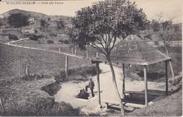 POSTAL DE SAN HILARI SACALM DE LA FONT DEL FERRO  (GIRONA-GERONA) - Gerona