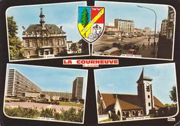 93 LA COURNEUVE - MULTIVUES / BLASON - La Courneuve
