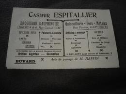 Publicités   Espitalier Drogerie  A Gap 05 ( Buvard) - Publicités