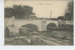 PERTUIS - Pont Sur L'Eze (automobile ) - Pertuis