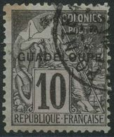 Guadeloupe (1890) N 18 (o) - Oblitérés