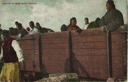 China, Chinese Train, Third Class To Peking (1918) Postcard - China