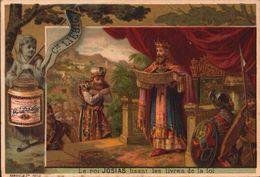 1 Chromos Liebig - S 160 - Biblique - Bible - Josias - Ancien Testament - Lieb033 - R/V - Liebig