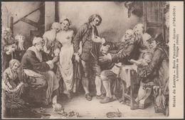Jean-Baptiste Greuze - L'Accordée De Village, C.1910s - Le Deley CPA - Paintings