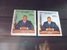 CONGO YVERT  N°1549.1550 - République Démocratique Du Congo (1997 -...)