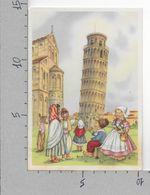 CARTOLINA NV ITALIA - TORRE DI PISA - Bimbi Stranieri In Costume - Casa Mamma Domenica - 10 X 15 - Contemporanea (a Partire Dal 1950)